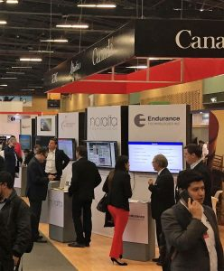 Canadian Pavilion at the Expo Oil and Gas Colombia 2017